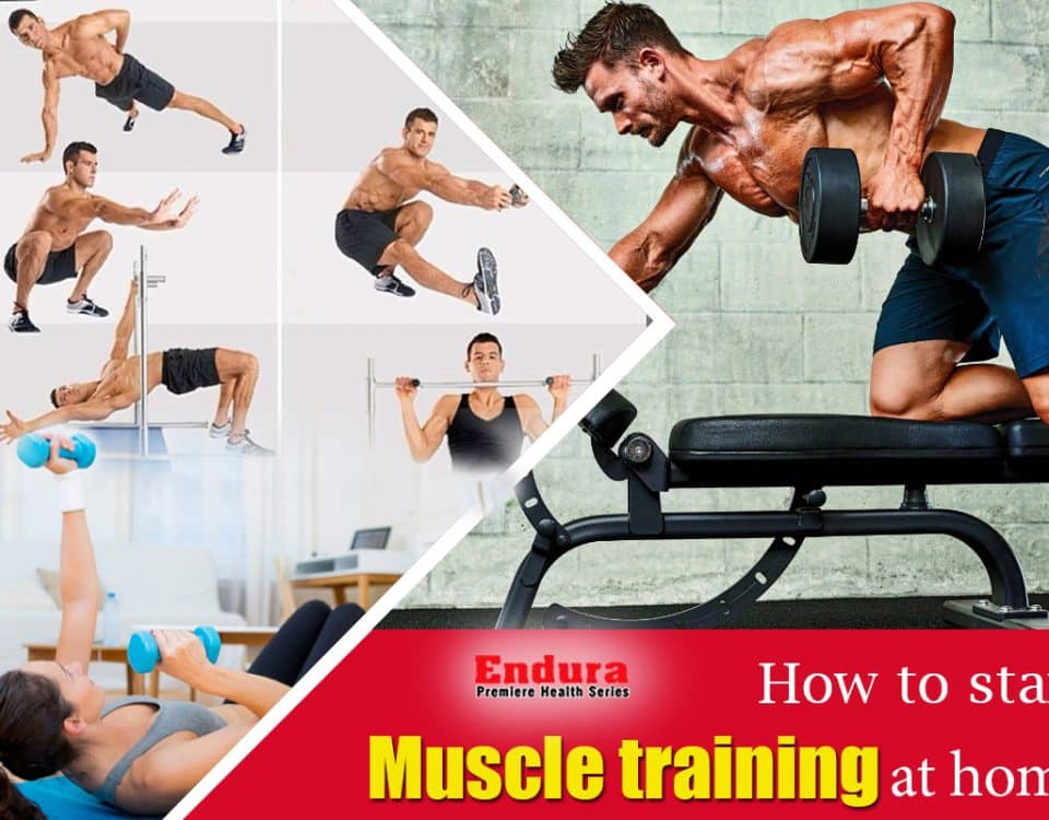 How to Start Muscle Training at Home